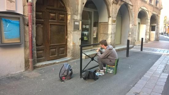Street Art rue Chenoise - Grenoble