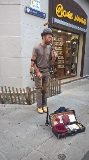 Musicien solo multi instruments