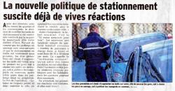 Nouvelle politique de stationnement Grenoble 2016